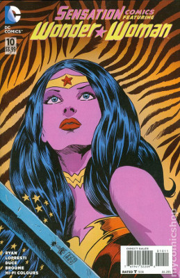 Sensation Comics Featuring Wonder Woman #10
