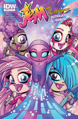 Jem and the Holograms: Outrageous Annual