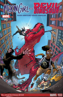 Moon Girl and Devil Dinosaur #2