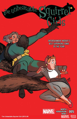 Unbeatable Squirrel Girl #5