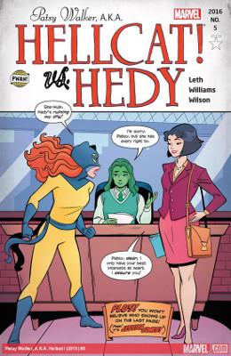Patsy Walker, aka Hellcat #5