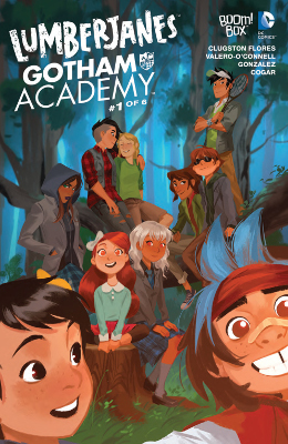 Lumberjanes/Gotham Academy #1