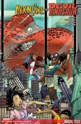 Moon Girl and Devil Dinosaur #8