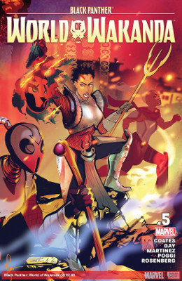 Black Panther: World of Wakanda #5