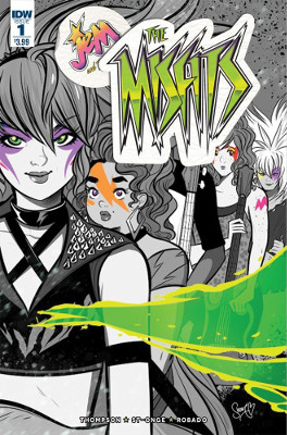 Jem: The Misfits #1