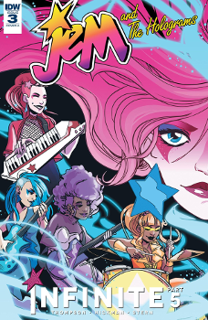 Jem and the Holograms: Infinite Part 5