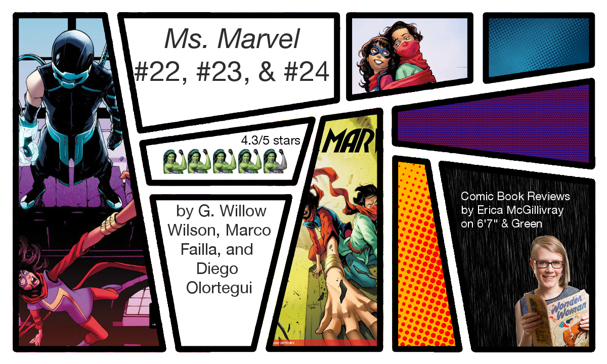 Ms. Marvel #22, #23, and #24 Reviews | 6\' 7"|1200|720|?|en|2|c3aba630fc56c654efa4e84ca5001946|False|UNLIKELY|0.3170389235019684