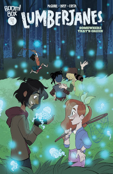 Lumberjanes Somewhere That's Green #1