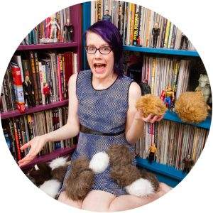 Erica McGillivray and tribbles